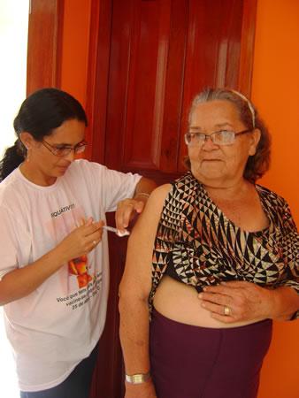 ACS Fazendo a Diferença na Campanha de Vacinação do Idoso