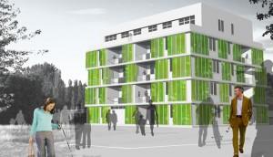 Algas - Inovador Design de Edifícios Sustentáveis (Fonte: PSFK)